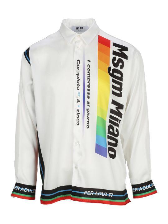 MSGM Shirt Ls Multienergi