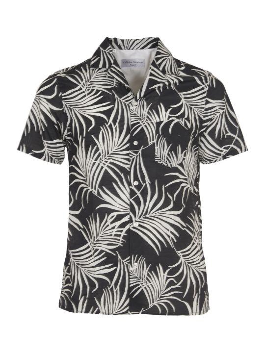 Officine Générale Black And White Shirt