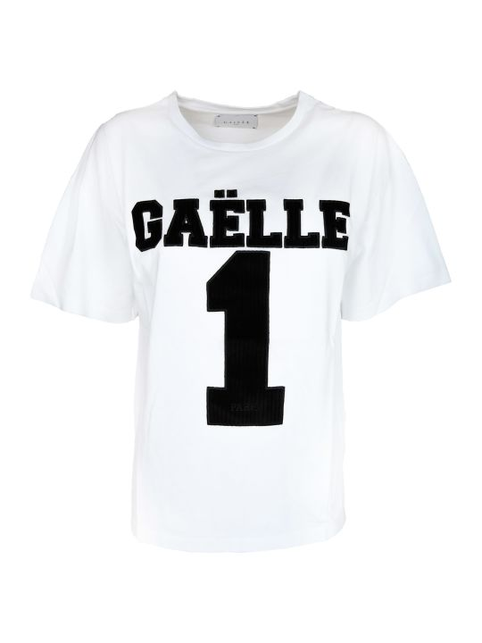 Gaelle Bonheur Embroidered T-shirt