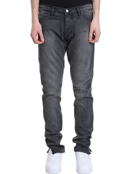 Rhude Dirt Road Grey Denim Jeans