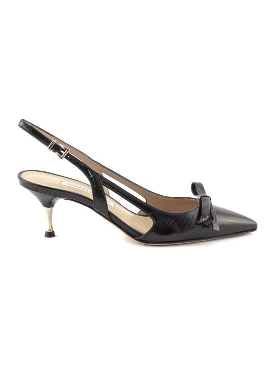 Roberto Festa Lorenza Pump In Black Leather