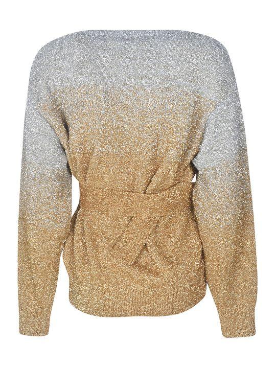 Dries Van Noten Belted Waist Sweater