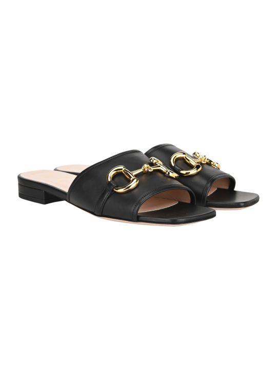 Gucci Horsebit Slide Sandals