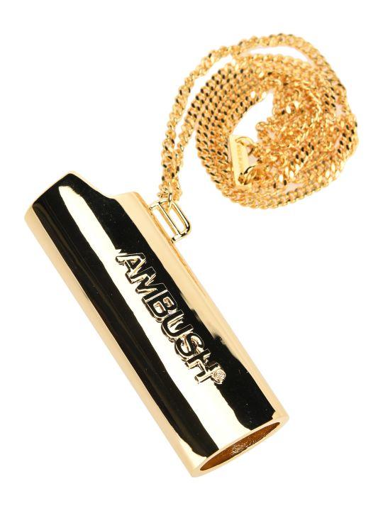 AMBUSH Lighter Holder Necklace