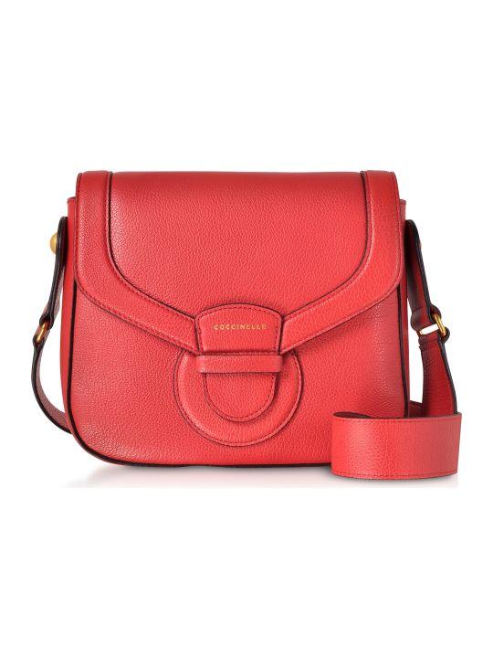 Coccinelle Vega Medium Leather Shoulder Bag
