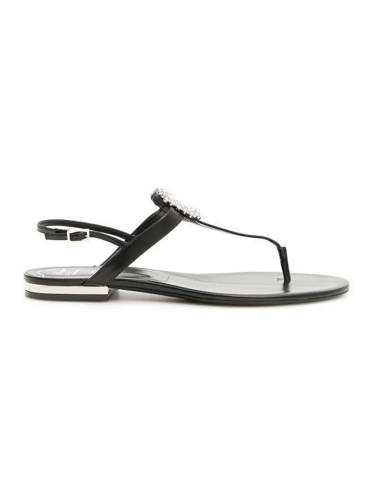 55d7574338c7 Roger Vivier Mini Diadem Sandals