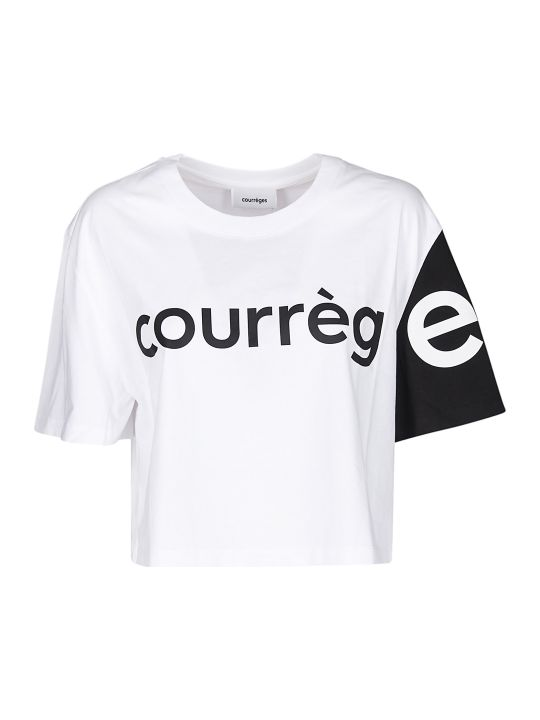 Courrèges Cropped T-shirt