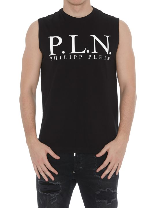 Philipp Plein Tank Top With Logo