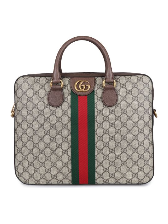 Gucci Ophidia Gg Supreme Fabric Briefcase