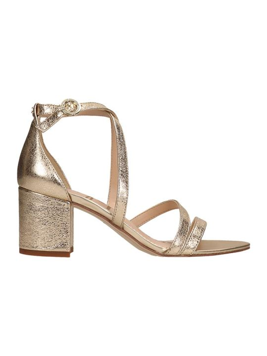 Sam Edelman Gold Leather Sandals