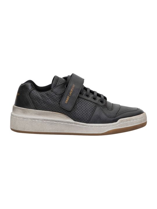 Saint Laurent Sl24 Sneaker Bassa Con Lacci E Strap Low Top