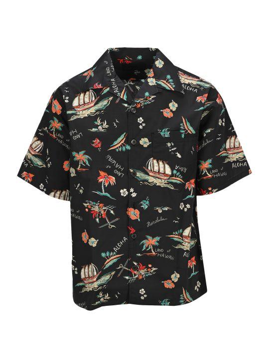 Prada Hawai Printed Shirt