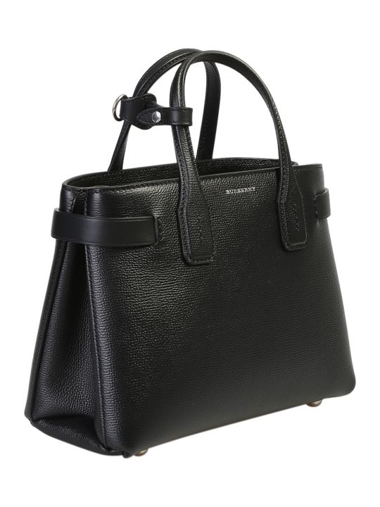Burberry Black Small Banner Bag
