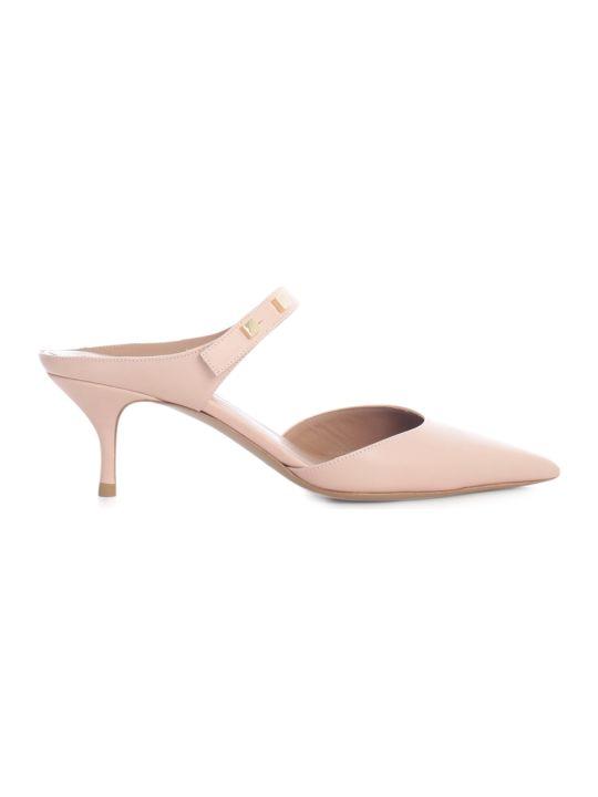 Emporio Armani Pumps W/thin Heel And Belt