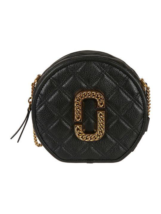 Marc Jacobs Logo Plaque Round Shoulder Bag