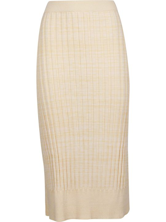 Jil Sander Navy Jil Sander Navy Ribbed Pencil Skirt