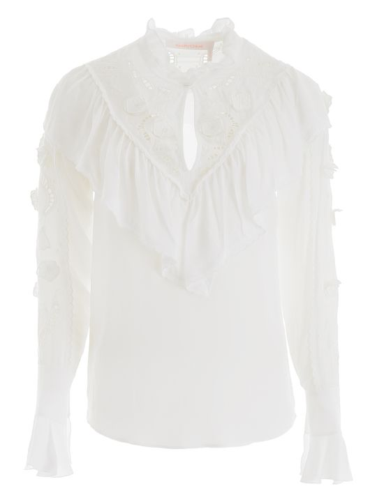 See by Chloé Blouse With Embroidery