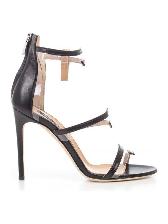 Sergio Rossi Zipped Sandals
