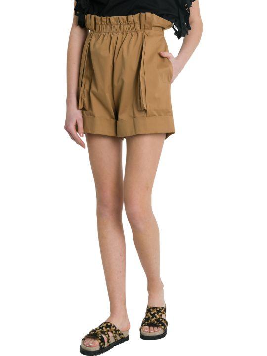 Alberta Ferretti High-rise Shorts