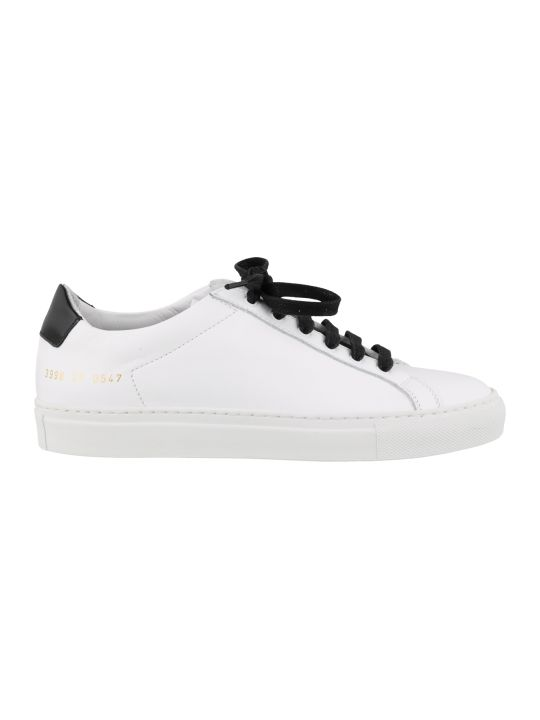 Common Projects Retro Low Glossy Sneakers
