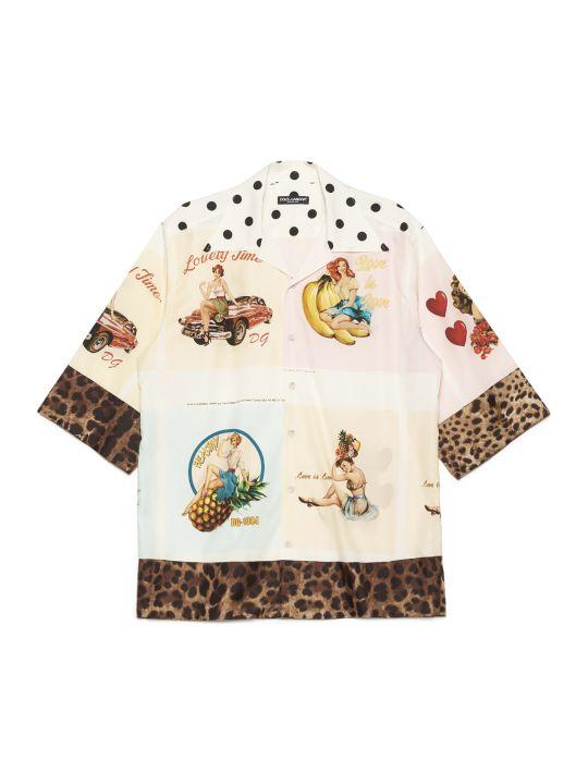 Dolce & Gabbana 'cartoline' Shirt