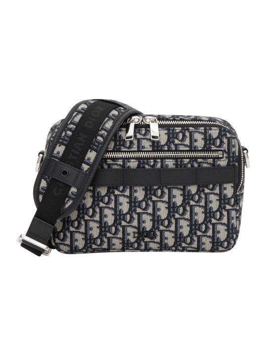 Dior Homme Monogram Shoulder Bag
