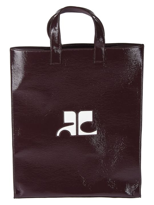 Courrèges Logo Shopper Bag