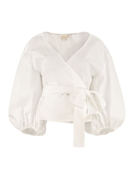 MICHAEL Michael Kors Cotton Poplin Blouse