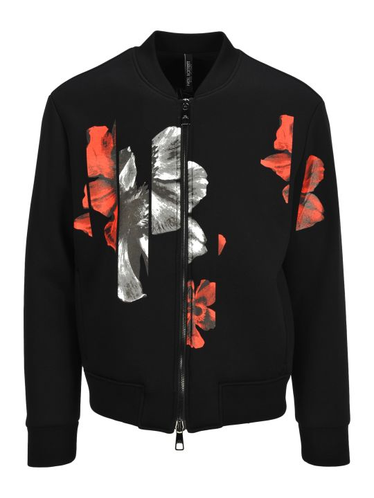 Neil Barrett Crew Neck Full Zip Flowers