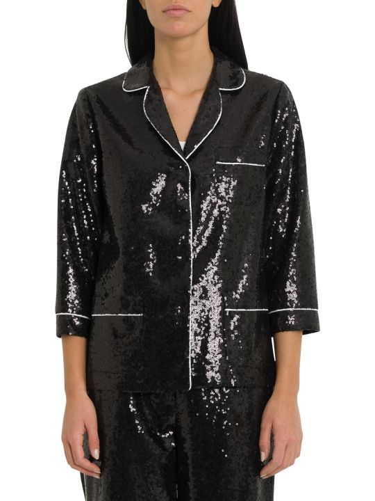 In The Mood For Love Sofia Sequined Pyjama Blazer