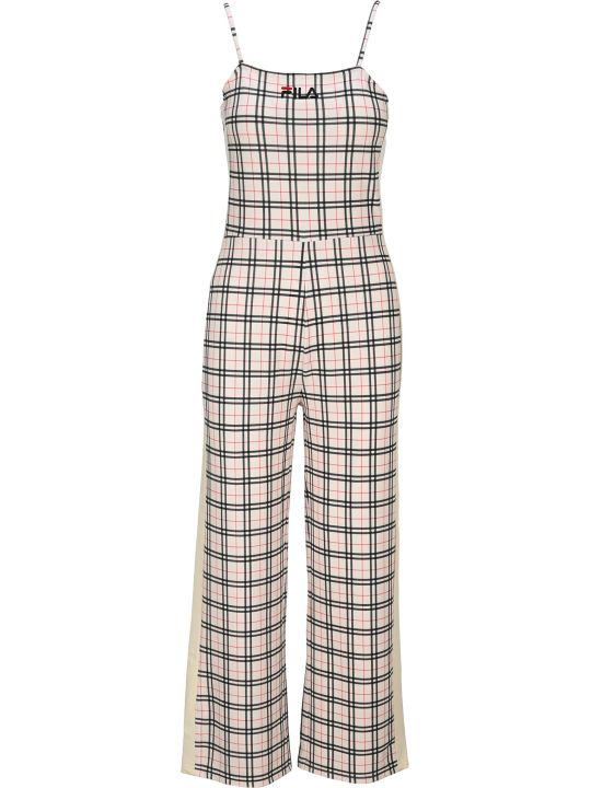 Fila Checked Jumpsuit