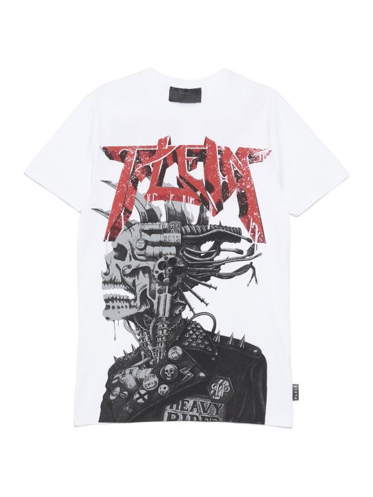 Philipp Plein 'logo Rock Plein Punk' T-shirt