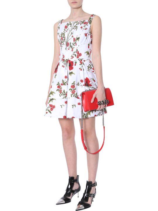 Alexander McQueen Dress With Poppy Field Print