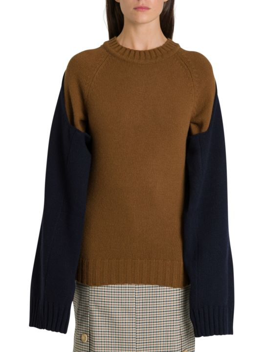 Eudon Choi Fini Sweater With Double Sleeve