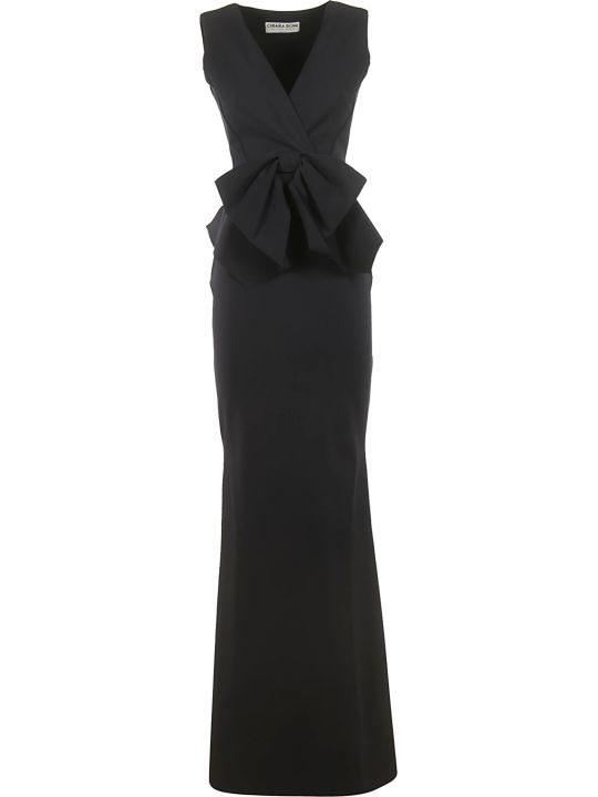 La Petit Robe Di Chiara Boni Bow Detail Long Dress