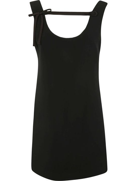 Prada Bow Detail Dress