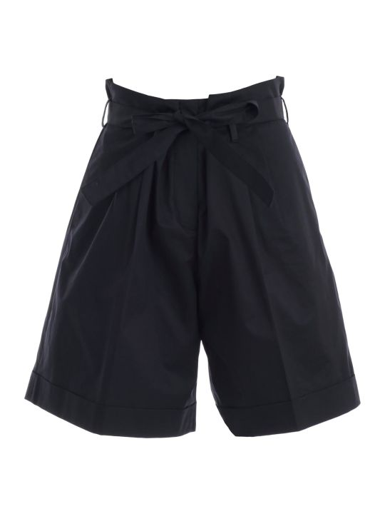 PS by Paul Smith Tie Belted Waist Shorts