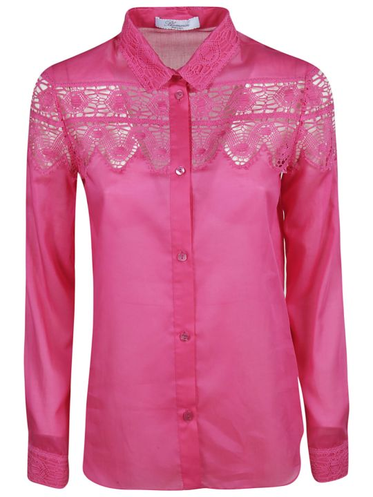Blumarine Laced Detail Shirt