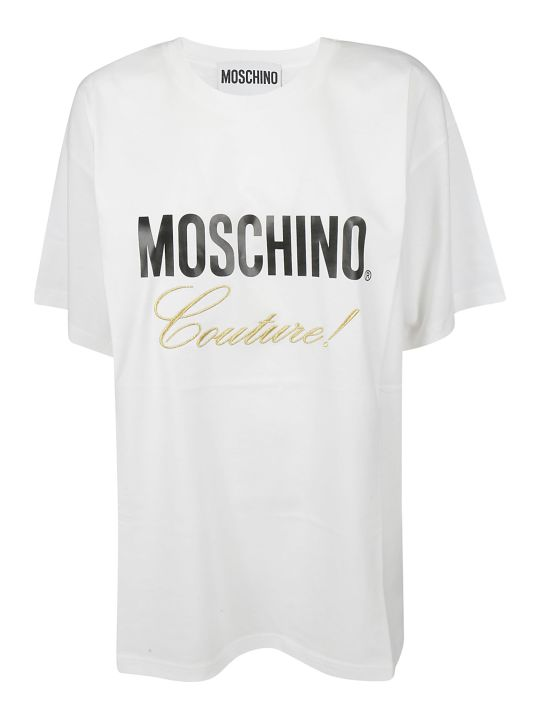 Moschino Embroidered Logo T-shirt