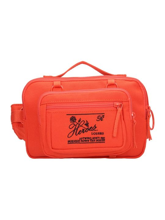 Eastpak by Raf simons Rs Waistbag Waist Bag In Orange Canvas
