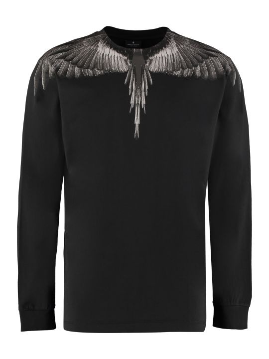Marcelo Burlon Crew-neck Cotton T-shirt