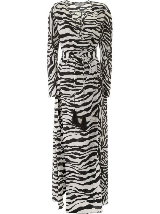 The Attico Zebra Print Dress