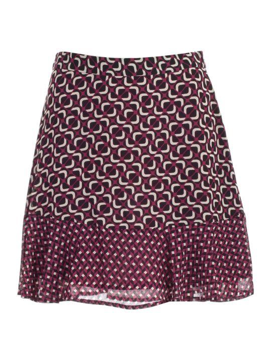 MICHAEL Michael Kors Skirt Shirt Foulard Fantasy