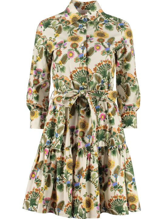 La DoubleJ Short Bellini Cotton Shirtdress