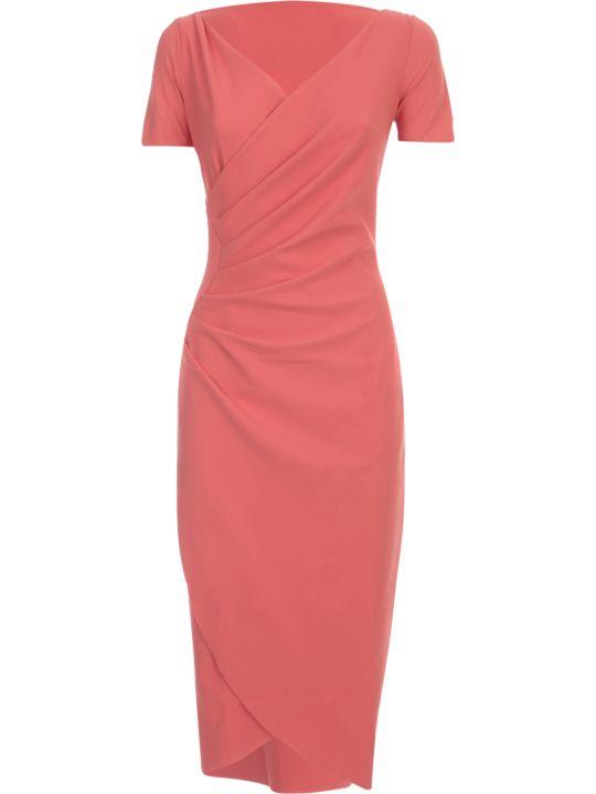 La Petit Robe Di Chiara Boni Dress S/s V Neck W/cross