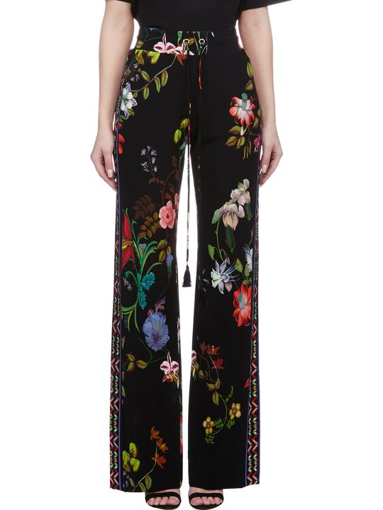Etro Floral Straight Fit Trousers
