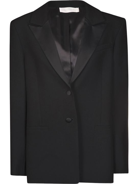 Victoria Beckham Double Face Stretch Blazer
