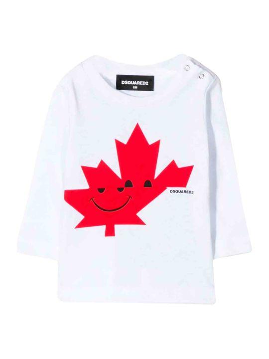 Dsquared2 Newborn White T-shirt