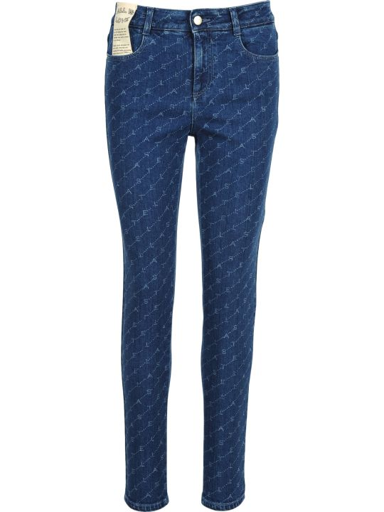 Stella McCartney Skinny Denim Monograme