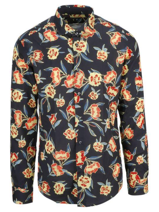 Brian Dales Floral Print Shirt